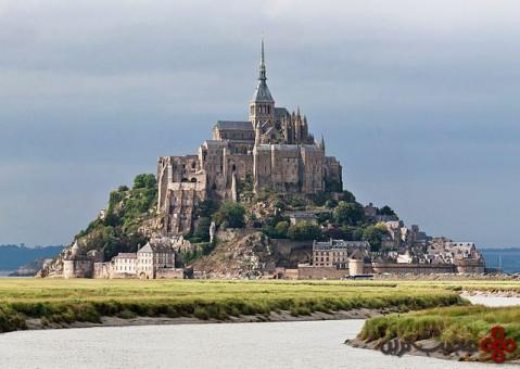 مون سن میشل (mont saint michel)، نورماندی، فرانسه
