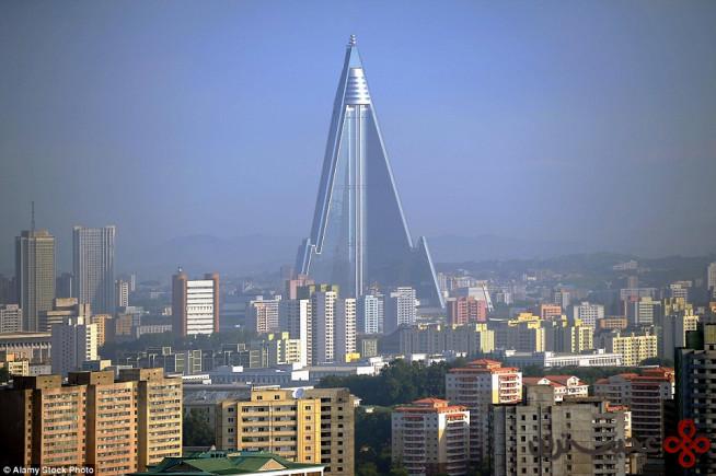 هتل ریوگیونگ، پیونگیانگ، کره شمالی