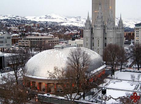 پرستشگاه سالت لیک، سالت لیک سیتی (salt lake city)، یوتا (utah)، ایالات متحده آمریکا