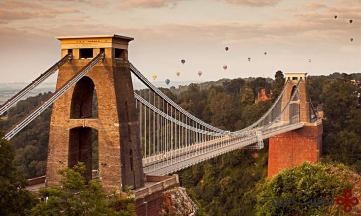 پل معلق کلیفتون، بریستول، انگلستان۱