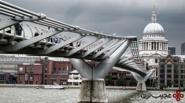 پل هزاره، لندن، انگلستان۱