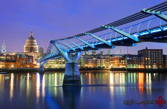 پل هزاره، لندن، انگلستان۲
