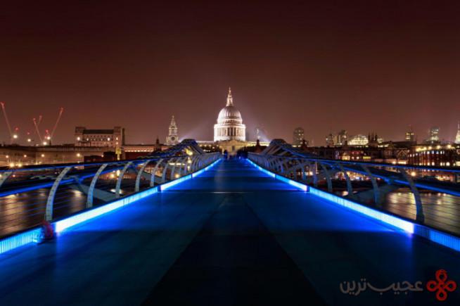 پل هزاره، لندن، انگلستان۳