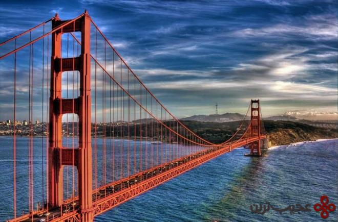 پل گلدن گیت، سنفرانسیسکو، ایالات متحده آمریکا۱