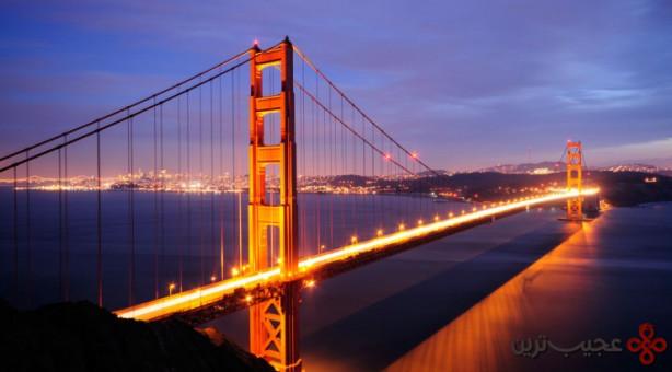 پل گلدن گیت، سنفرانسیسکو، ایالات متحده آمریکا۴