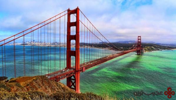 پل گلدن گیت، سنفرانسیسکو، ایالات متحده آمریکا