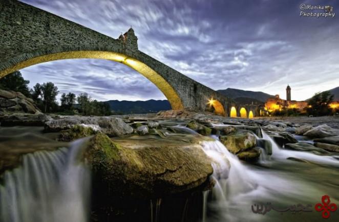 پونته گوبو(ponte gobbo)، بوبیو، ایتالیا۱