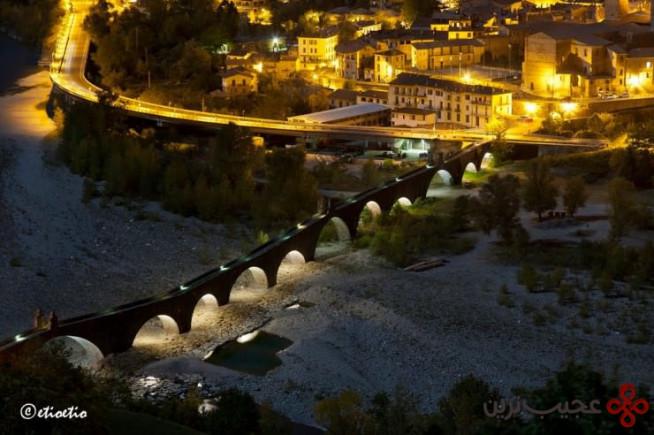 پونته گوبو(ponte gobbo)، بوبیو، ایتالیا۲