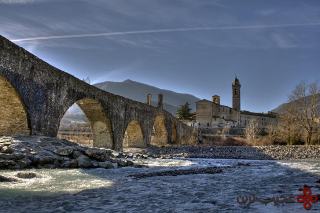 پونته گوبو(ponte gobbo)، بوبیو، ایتالیا۳