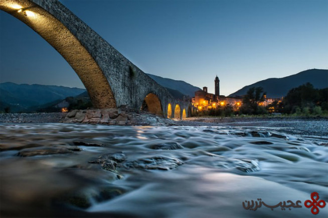 پونته گوبو(ponte gobbo)، بوبیو، ایتالیا