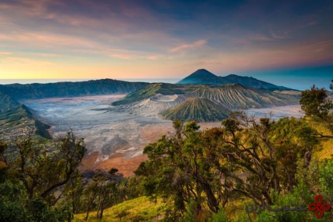 کوه آتشفشانی برومو 2