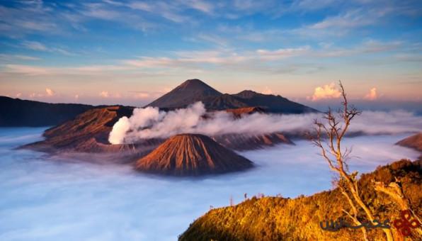 کوه آتشفشانی برومو 3
