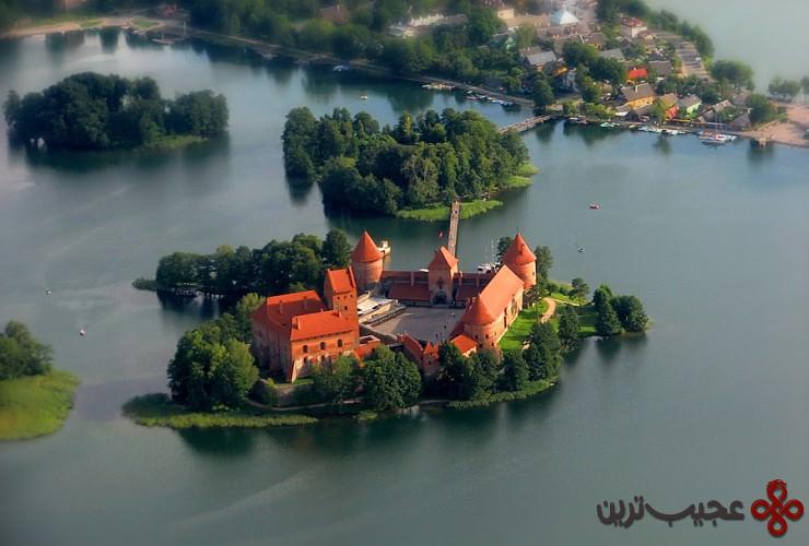 10 قلعهٔ جزیرهٔ تِراکای (trakai castle)، لیتوانی3