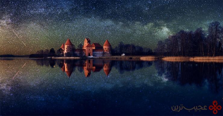10 قلعهٔ جزیرهٔ تِراکای (trakai castle)، لیتوانی4