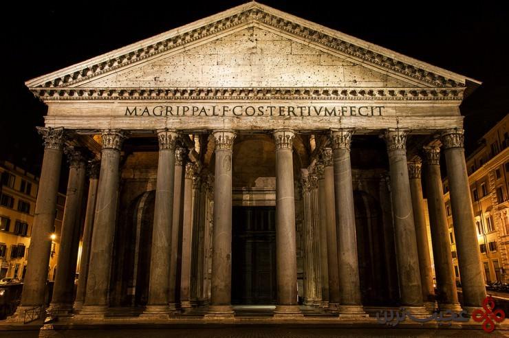 2 پانتئون (pantheon)، رم، ایتالیا