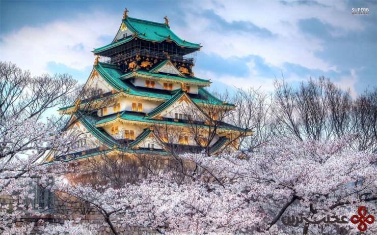 3 قلعهٔ اوزاکا (osaka)، اوزاکا، ژاپن