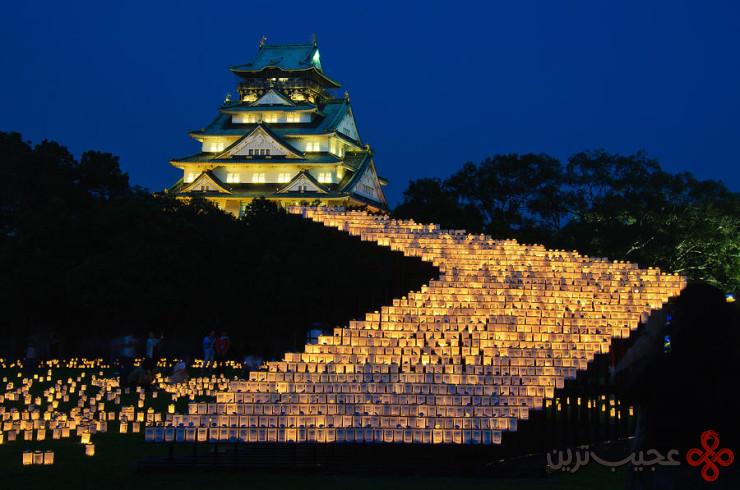 3 قلعهٔ اوزاکا (osaka)، اوزاکا، ژاپن3