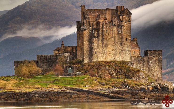 4 آلن دونَن (eilean donan)، جزیرهٔ لاک دوییچ (loch duich)، اسکاتلند2