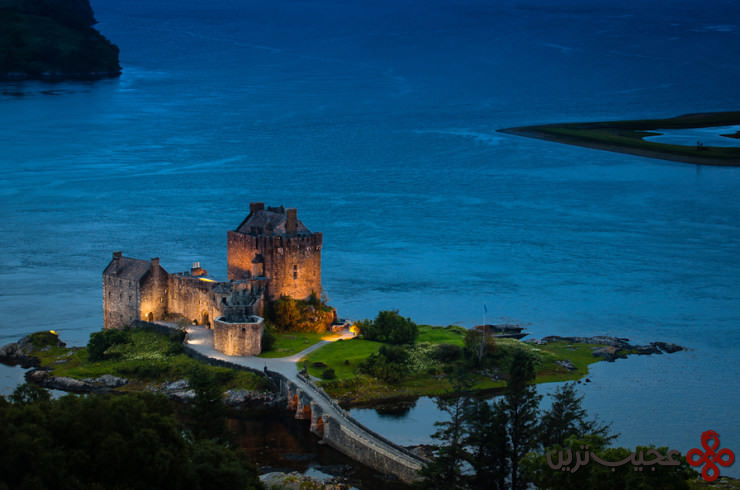 4 آلن دونَن (eilean donan)، جزیرهٔ لاک دوییچ (loch duich)، اسکاتلند3