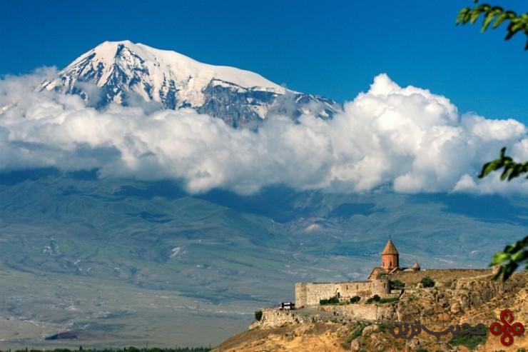 5 کِر ویرَپ (the khor virap)، ارمنستان