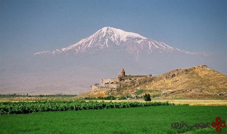 5 کِر ویرَپ (the khor virap)، ارمنستان4