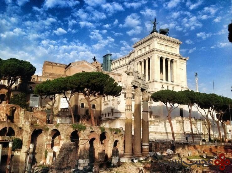 6 انجمن رومی (roman forum)، رم، ایتالیا