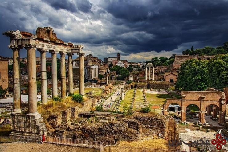 6 انجمن رومی (roman forum)، رم، ایتالیا2
