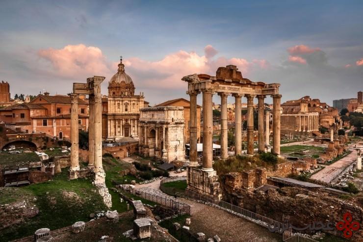 6 انجمن رومی (roman forum)، رم، ایتالیا4