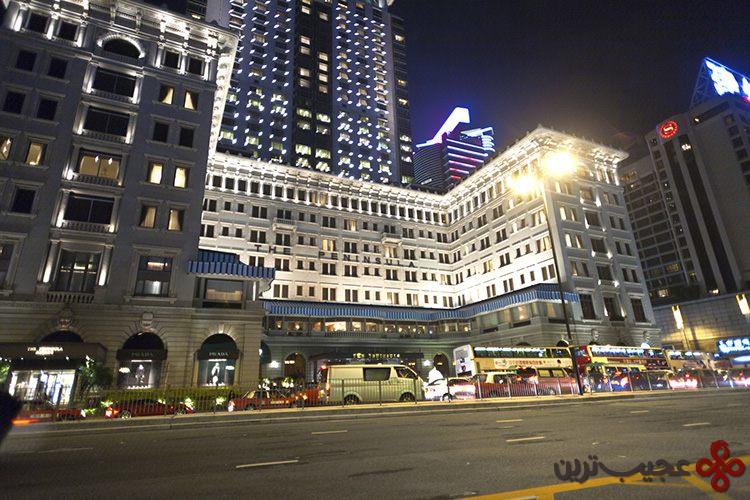 6 هتلهای پنینسولا (the peninsula hotels)