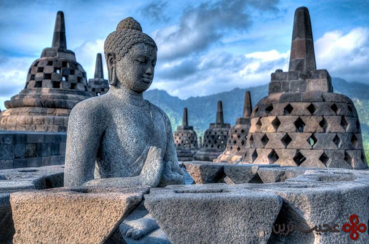 7 بارابودور (borobudur)، ماگهلان (magelang)، جاوهٔ مرکزی، اندونزی4