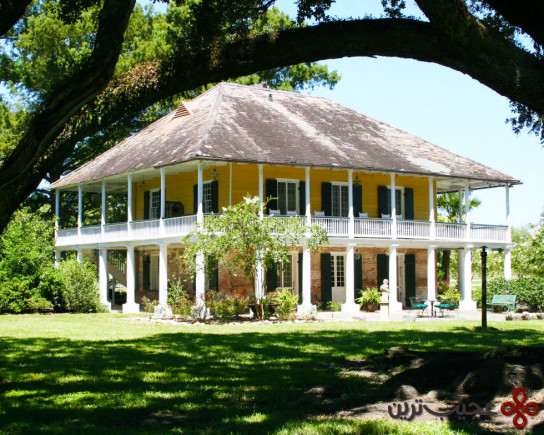 more porch than house