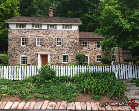 old stone home