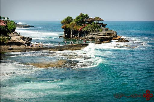 pura tanah lot، بالی، اندونزی