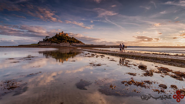 st michael's mount، کورنوال (cornwall)، انگلستان