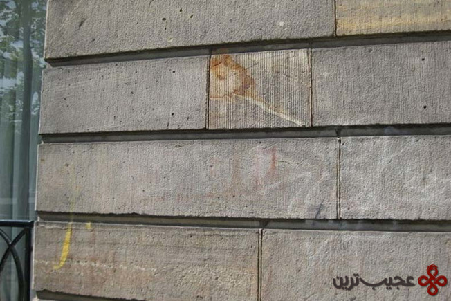 there's a house covered in 350 year old blood graffiti