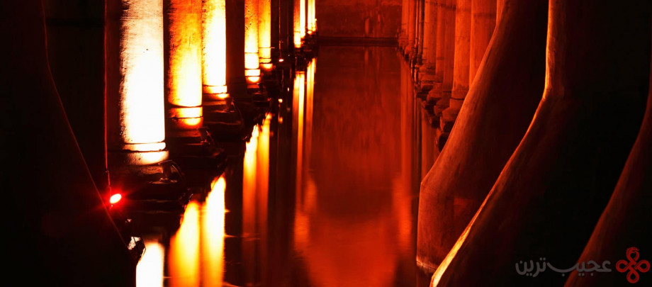 آبانبار شگفت انگیز basilica cistern2