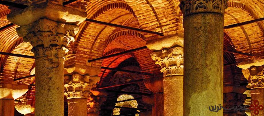 آبانبار شگفت انگیز basilica cistern3