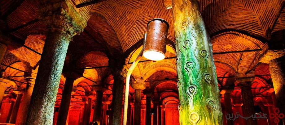 آبانبار شگفت انگیز basilica cistern4