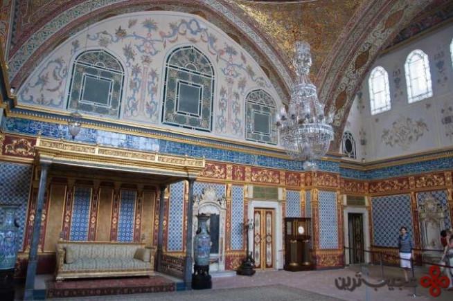 کاخ توپکاپی (topkapi)، بارگاه امپراتوری عثمانی2