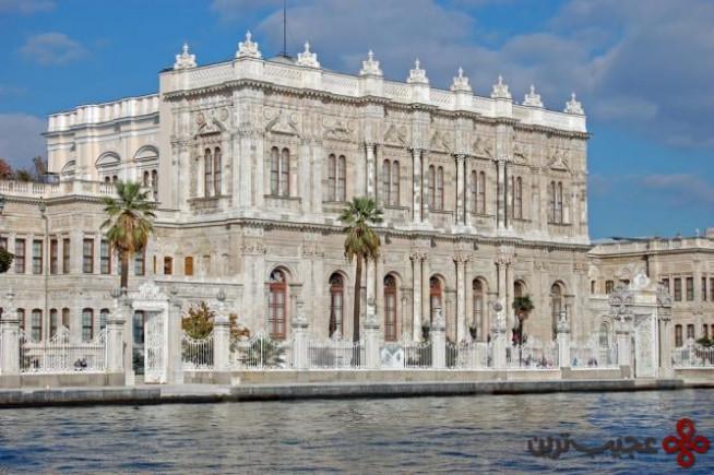 کاخ دلمهباغچه (dolmabahçe palace)، بزرگترین کاخ ترکیه1