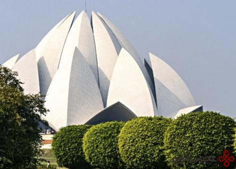 6 lotus temple