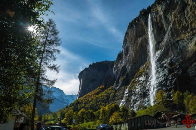 آبشاراستاباخ، برنیز اوبرلند (bernese oberland)، سوئیس