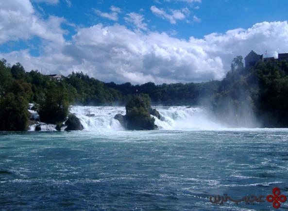 آبشار راین (rhine falls)، سوئیس