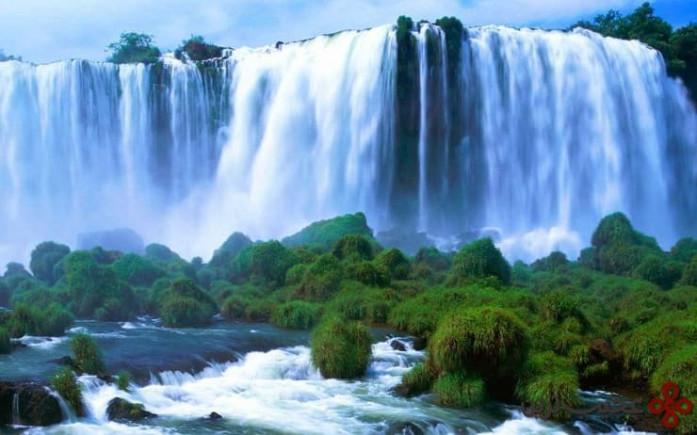 آبشار ویکتوریا، مرز زیمبابوه و زامبیا ۱