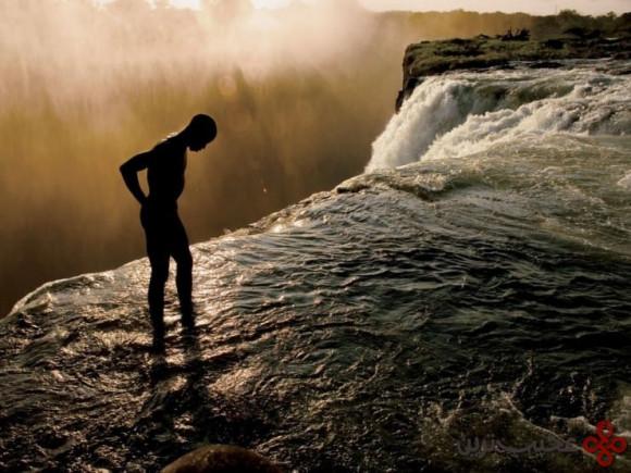 آبشار ویکتوریا، مرز زیمبابوه و زامبیا ۳