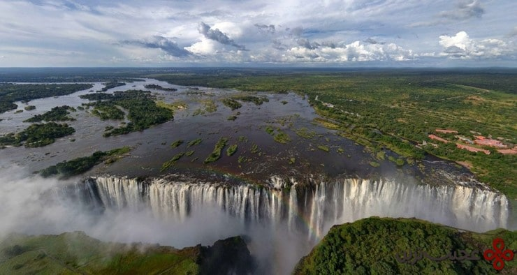 آبشار ویکتوریا، مرز زیمبابوه و زامبیا ۵