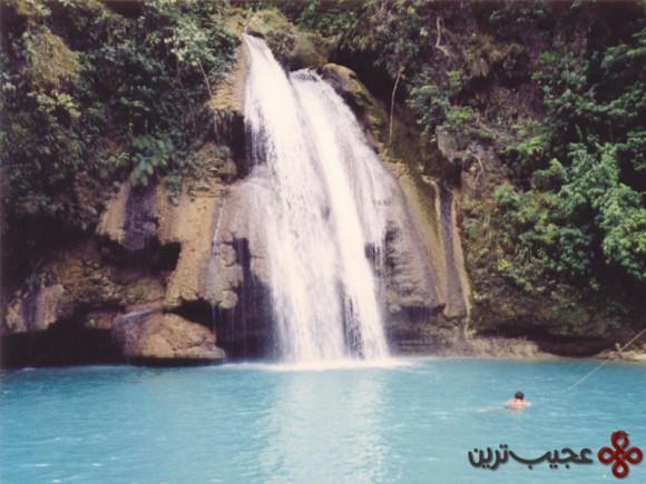 آبشار kawasan، فیلیپین