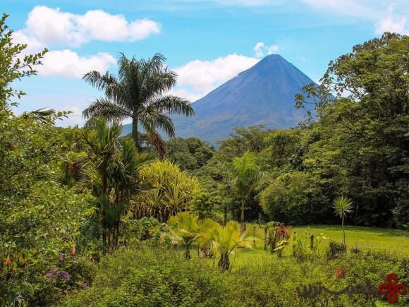 آتشفشان آرنال (arenal)، کاستاریکا