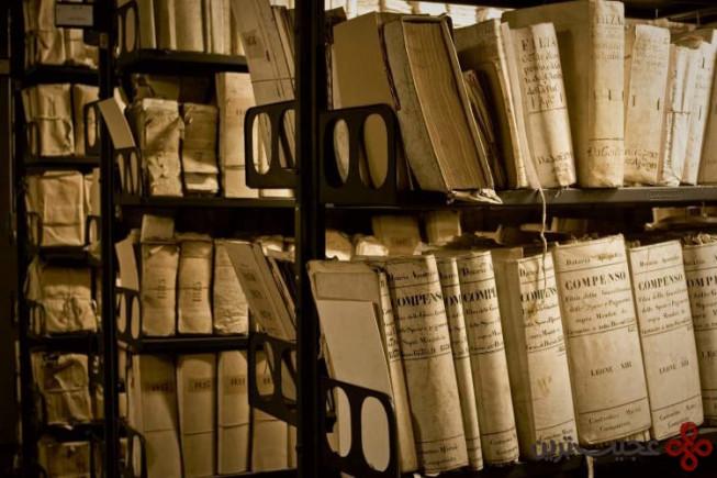 آرشیو مخفی واتیکان، ایتالیا