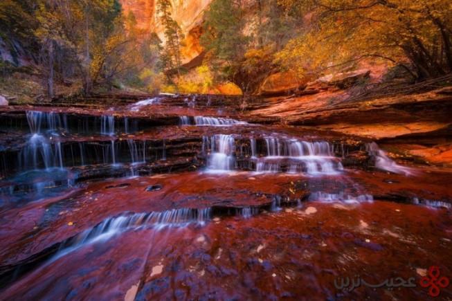 استخر زمردی، پارک ملی صهیون (zion)، یوتا، ایالات متحده